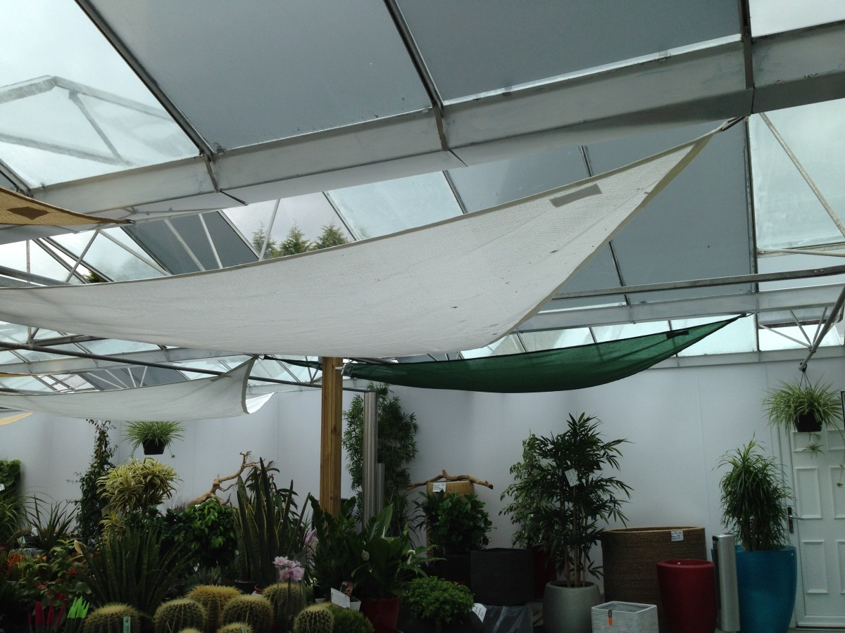 Woven Fabric Shade Sails