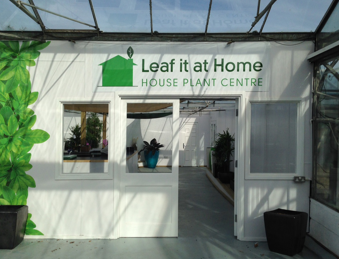 Our House Plant Centre Is Now Open!