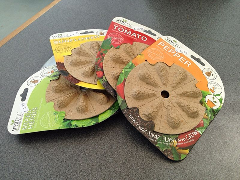 New In Store – SeedCell. Its Packaging You Plant!